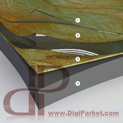 لایه های کفپوش pvc ، پی وی سی چیست ؟ ( PVC چیست ) کفپوش پی وی سی چیست ؟ ( PVC FLOORING )