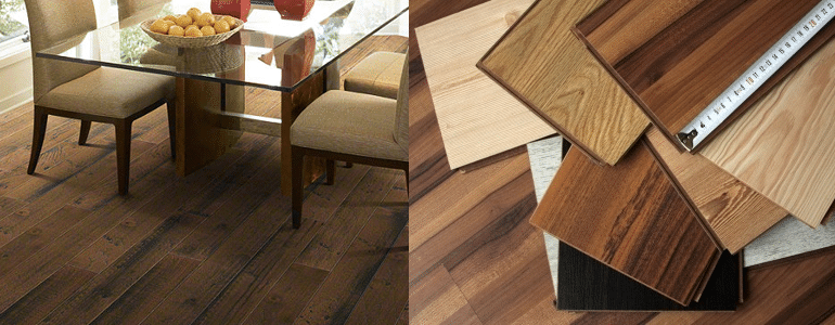 Floor sorface - سطح رویه پارکت برجسته از نوع نقش برجسته بزرگ