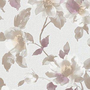 کاغذ دیواری میک آپ ۱۷ گلدار کد ۶۹۸۲