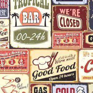 کاغذ دیواری میک آپ ۱۷ طرح لوگو کد ۷۳۴۴
