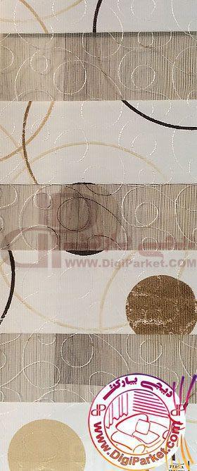 پرده زبرا چاپی زردوز خوش سایه کالیته 28-2 کد ZBB 12005