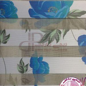 پرده زبرا خوشسایه گل رز آبی ، پرده زبرا گل رز آبی