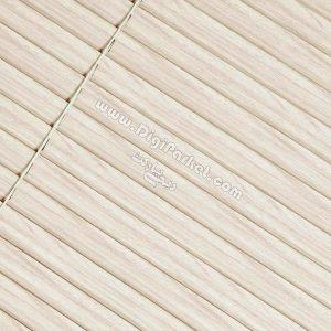 پرده کرکره فلزی طرح چوب سفید کرم خوش سایه تبریز