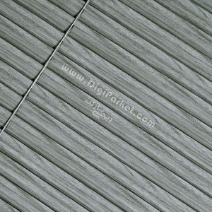 پرده کرکره فلزی طرح چوب سیاه سفید خوش سایه تبریز