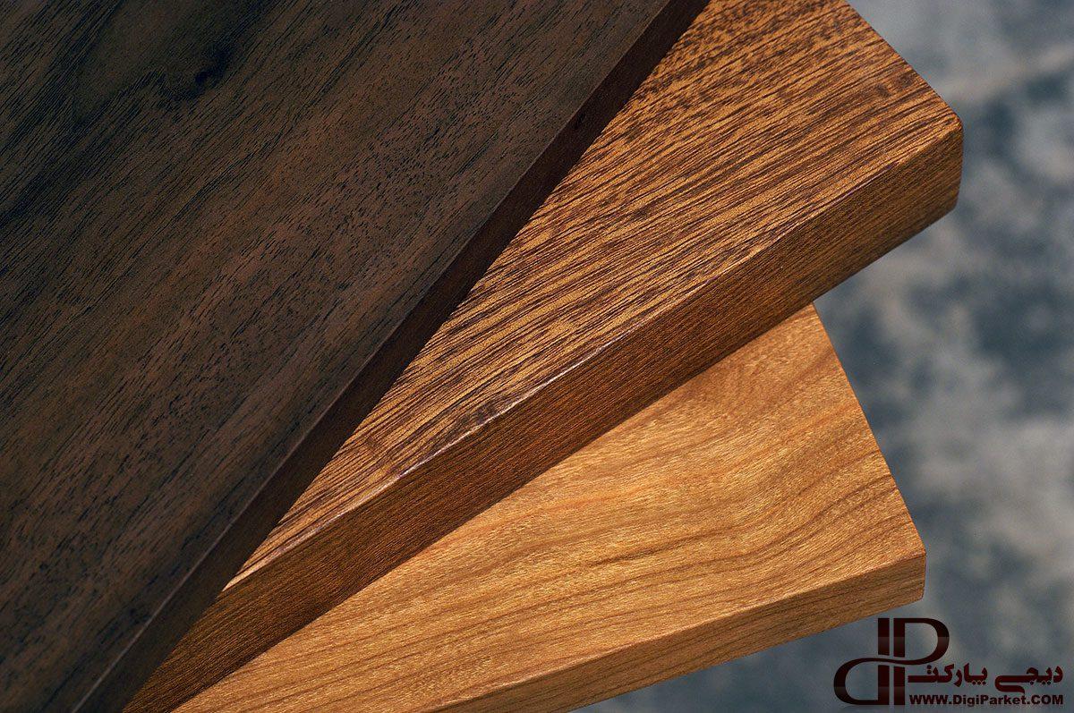 پارکت چوبی ، انواع پارکت چوبی از درخت طبیعی