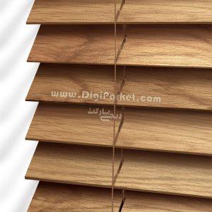 پرده کرکره چوبی کد ۶۰۷ خوش سایه تبریز