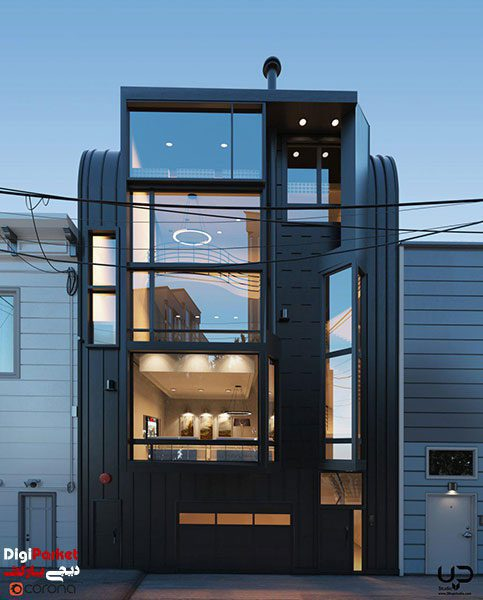 corona1 - بهترین نرم افزارهای معماری برای موفقیت در معماری