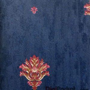 کاغذ دیواری ماربل کد ۱۸۰۳۰۱ طرح ساده با گل