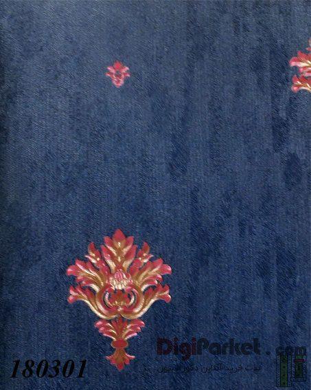 کاغذ دیواری ماربل کد 180301 طرح ساده با گل - LUXAS MARBLE DigiParket 31