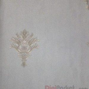 کاغذ دیواری ماربل کد ۱۸۰۳۰۸ طرح ساده با گل