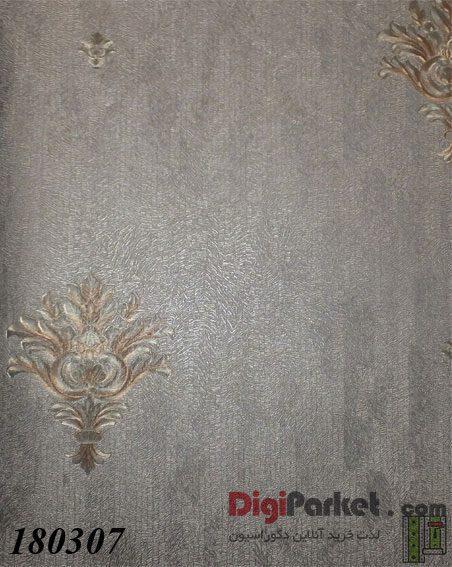 کاغذ دیواری ماربل کد 180307 طرح ساده با گل - LUXAS MARBLE DigiParket 35