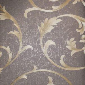کاغذ دیواری ماربل کد ۱۸۰۹۰۶ طرح گلدار کلاسیک