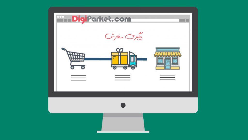 order tracking Digiparket - حساب کاربری من