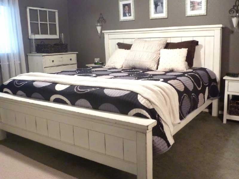 دکوراسیون اتاق خواب با تم سیاه و سفید