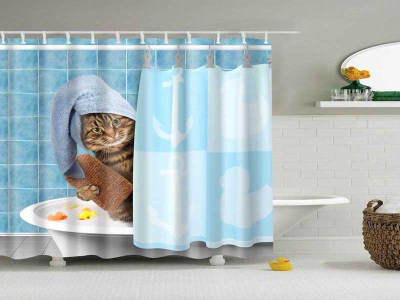 انتخاب پرده حمام
