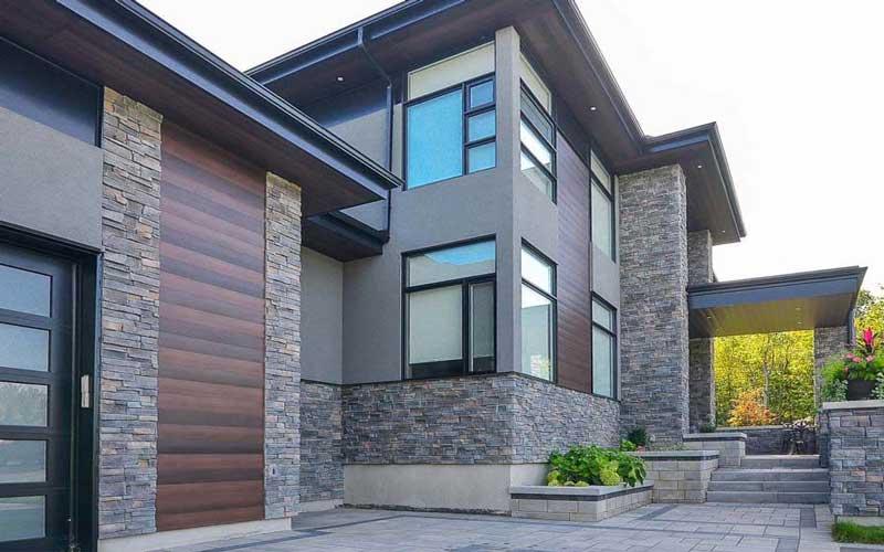 نمای سنگی ساختمان