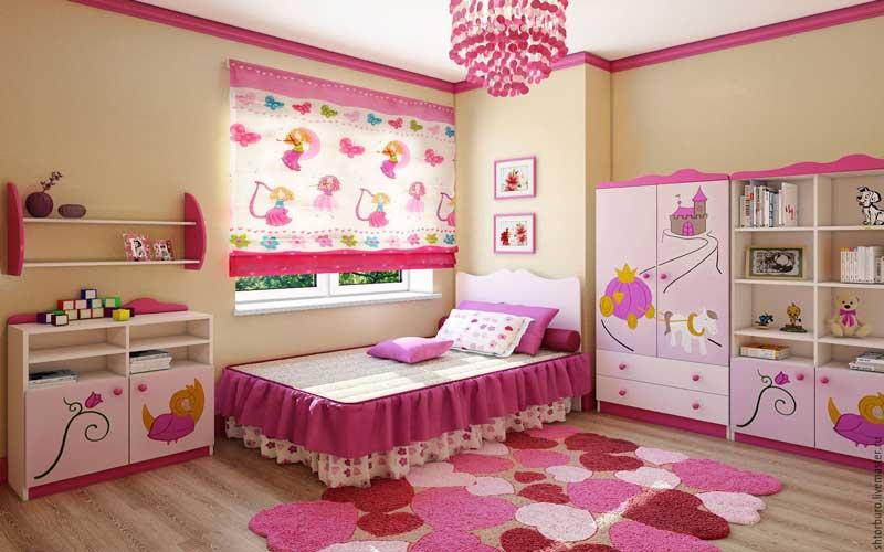 پرده اتاق کودکانه