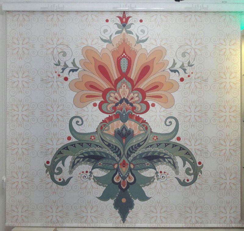 با چاپ روی پرده شید رول رنگ و روی خانه را عوض کنید