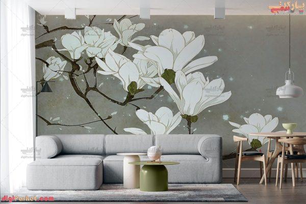 پوستر دیواری طرح شکوفه